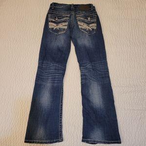 Bke Carter bootleg jeans 26s